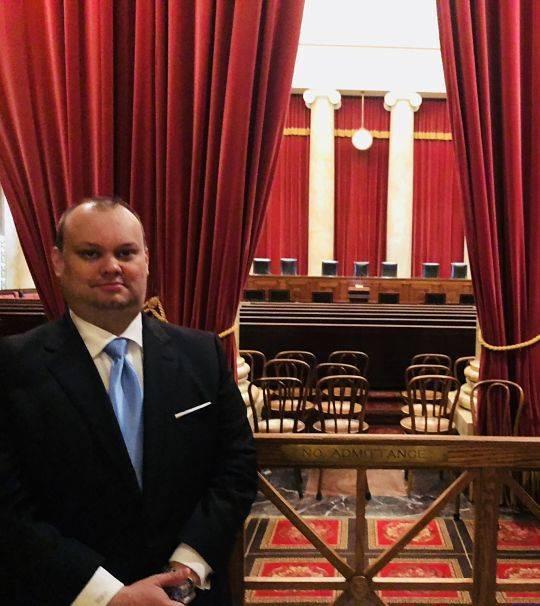 William R. Pierce, Oklahoma Estate Law attorney - at the US Supreme Court.