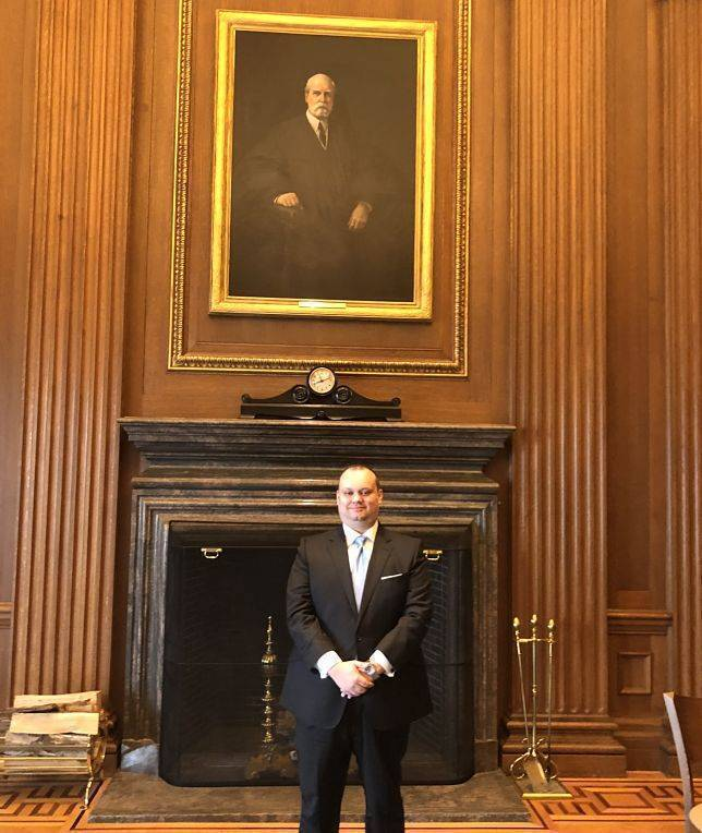 William R. Pierce- Family Law attorney OKC at the US Supreme Court.